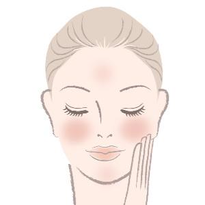 Roe ned sensitiv og evt rødlig hud