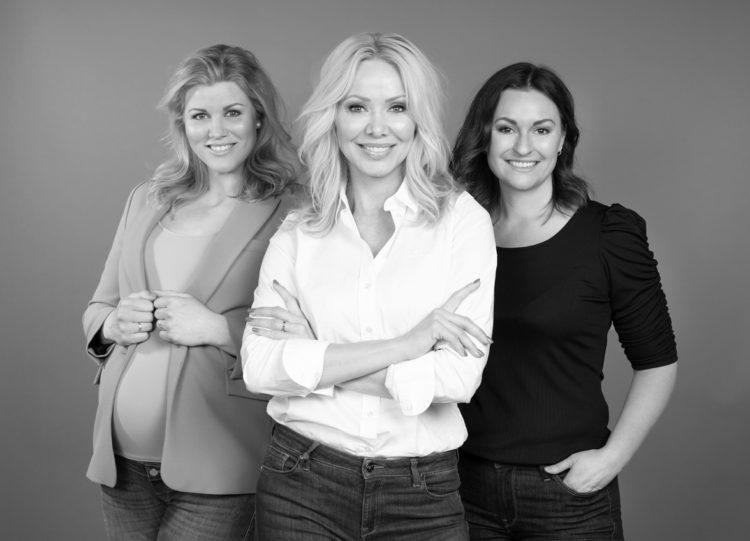 Karoline Sturesson, Linda Johansen, May Britt Løvstad