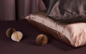 Silkeputetrekk for hud og hår