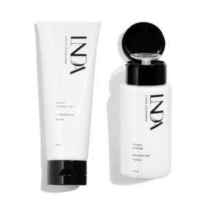 Duo cleansing pack facial cleanser