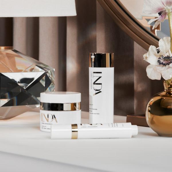 Luxe lift No1 face cream, face serum and eye cream